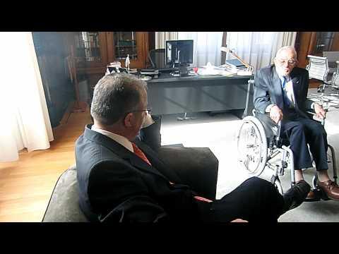 Dirk op de koffie bij burgemeester Aboutaleb
