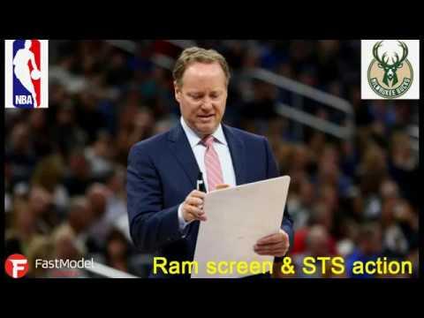 Milwaukee Bucks -  Ram Screen & STS Action