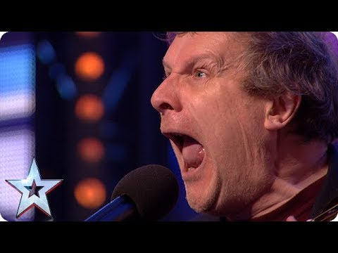 Get ready for some serious belly laughs with Noel James!   Auditions   BGT 2018