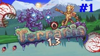 Прохождение игры Terraria #1