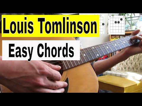 How To Play 'Two Of Us' By Louis Tomlinson On Guitar (acoustic Lesson)