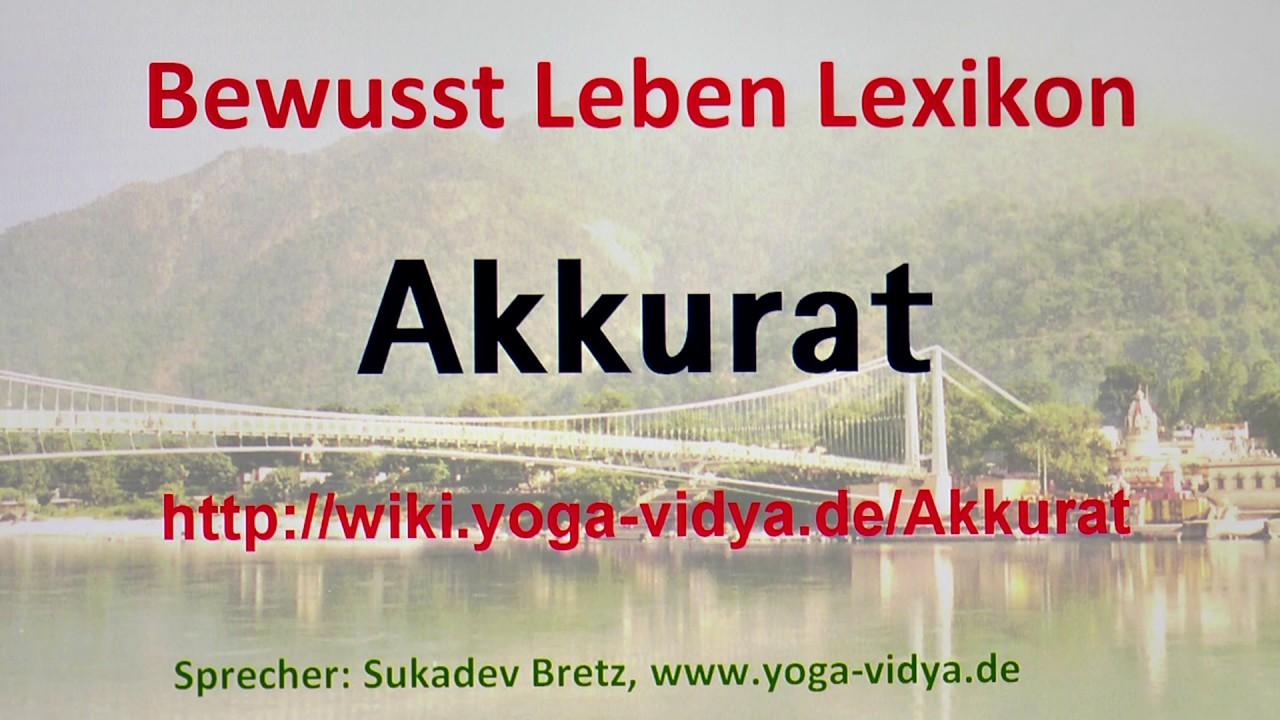 Akkurat – Yogawiki