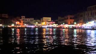10 секунд ночного моря. Ханья, Крит.(, 2013-08-23T13:26:01.000Z)