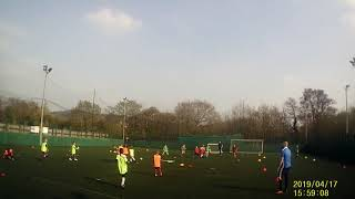 Newport Civil Service AFC Under 8s - Warm Up - Ball focused Movement  - 17/04/2019