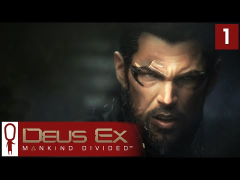 Deus Ex Mankind Divided Gameplay Part 1 - Dubai - Lets Play [Adaptive Stealth Pacifist PC]