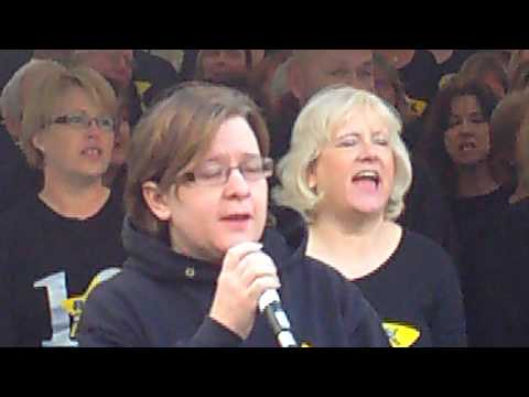 Rock Choir at Hatfield House Frost Fair 2015 (1st Set)