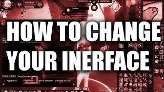 Fiesta Online Tutorial - Interface verändern