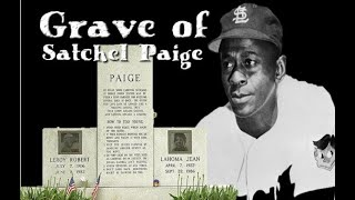 "Grave of Leroy ""Satchel"" Paige - Forest Hill Memorial Park Cemetery in Kansas City, MO"