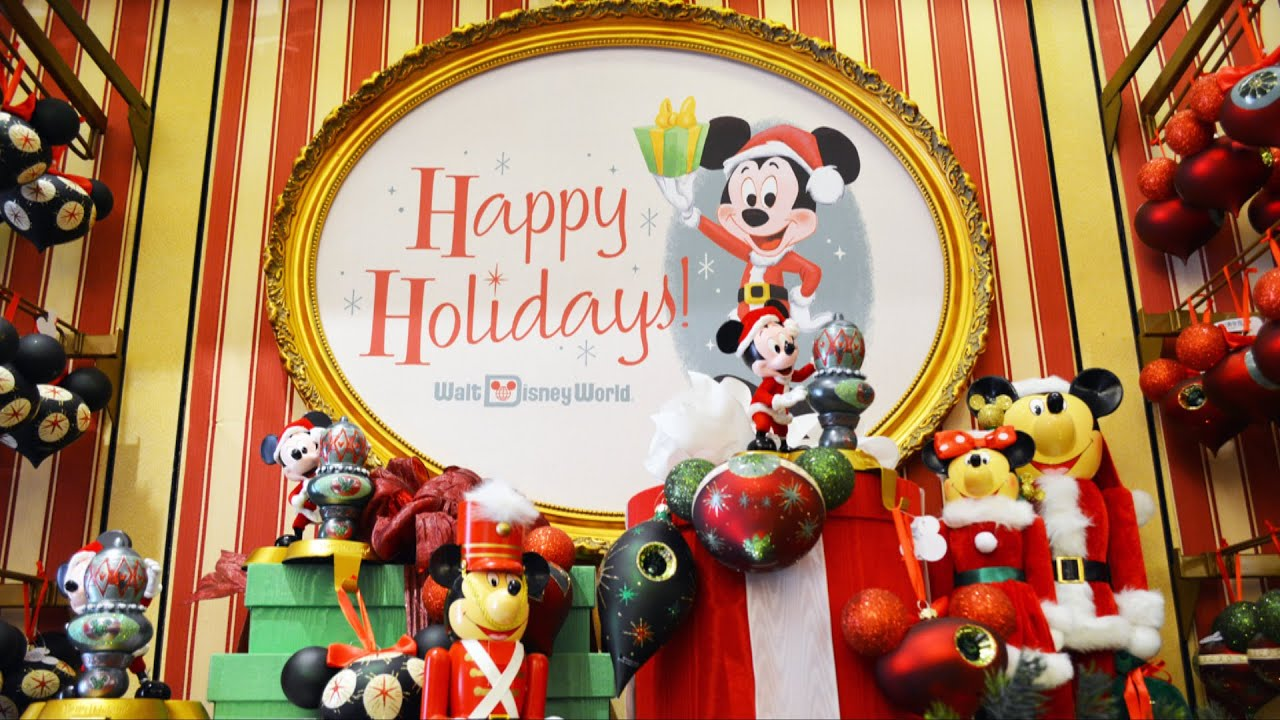 Disney World Christmas Merchandise