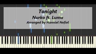 Download Mp3 Nurko - Tonight Ft. Luma  Advanced Piano Tutorial