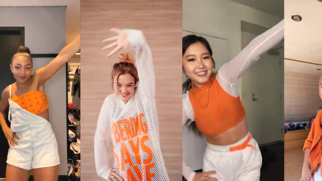 Now United Girls Dance to 'PA PA PA'