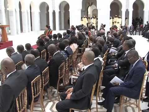 Présentation du Mausolée Omar Bongo Ondimba - 1/2
