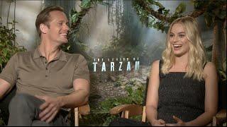 Alexander Skarsgard and Margot Robbie interview - THE LEGEND OF TARZAN