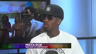 Mista Roe on KTAL NBC 6 with Stephen Bender