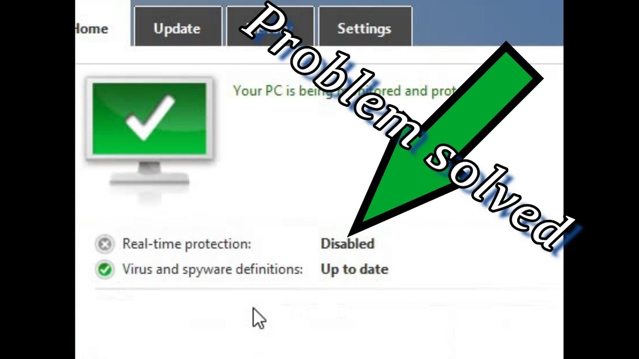 hkey_local_machine software policies microsoft windows defender real-time protection