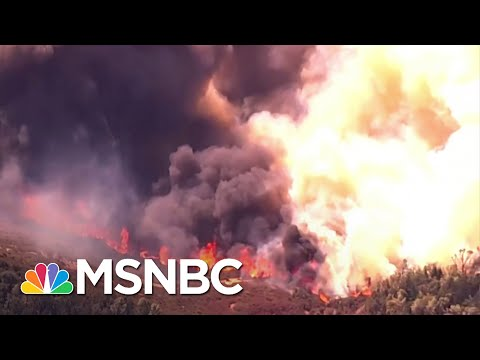 Wildfire in Napa County Causes Mandatory Evacuations At Nearby Hospital   MSNBC