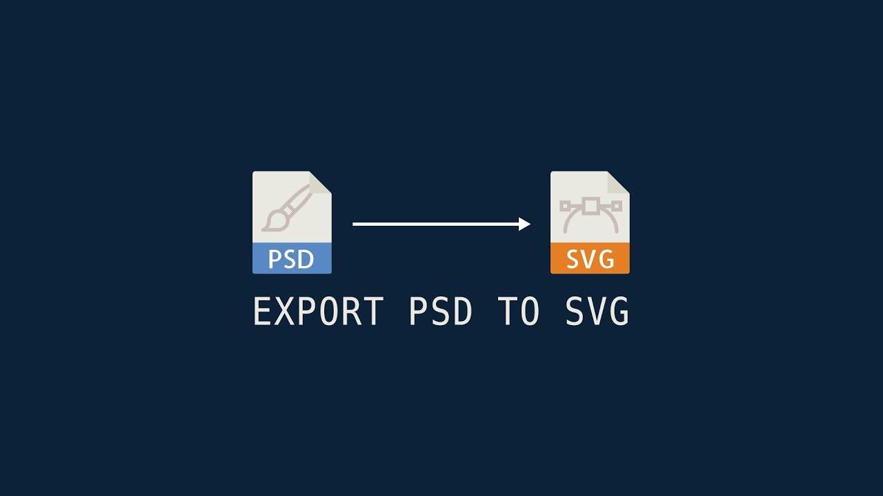 How To Export Svg Scalable Vector Graphic From Photoshop File Tips Trick Photoshop Youtube