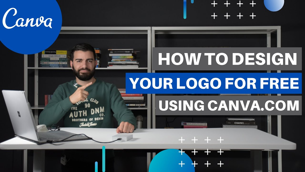 How To Create A Logo For Free Using Canva