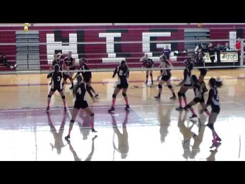 Kailey Gallagher #4 Bayonne High School Volleyball 2015
