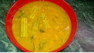 How To Make DrumStick Sambar  South Indian Recipe