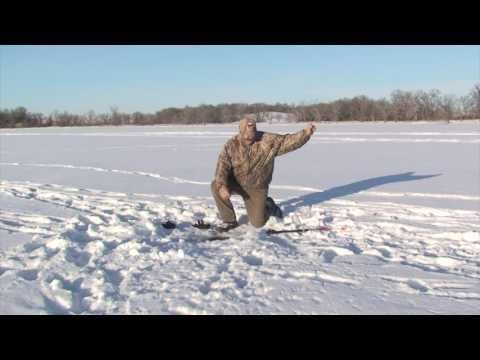 Ice fishing in South Dakota with special guests from Warrior Boats
