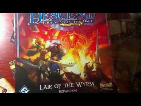 Распаковка Descent Lair Of The Wyrm (Логово Змея)