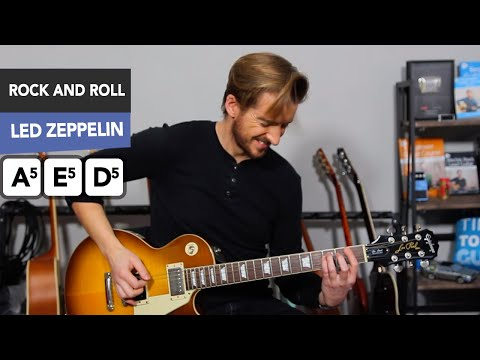 Led Zeppelin 'Rock and Roll' Guitar Lesson