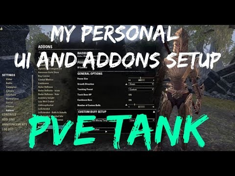 My Personal UI Setup (PvE Tank) - ESO Addons Guide | The Elder Scrolls Online