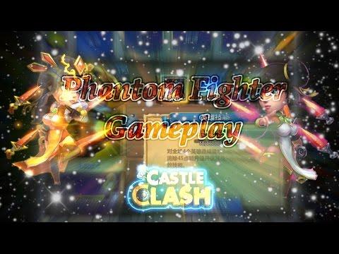 Castle Clash Phantom Fighter Gameplay ( Tencent Server)