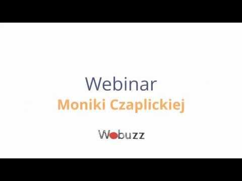 """WEBINAR """"Uwiedź darczyńcę w social mediach""""   Monika Czaplicka"""