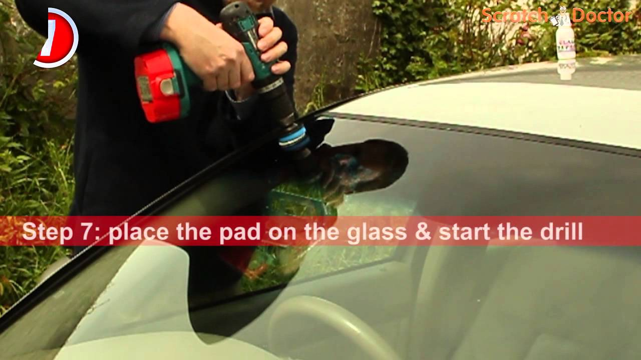 Scratch Doctor Windscreen Glass Repair Instruction