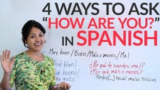 Spanish Lesson: 4 ways to ask