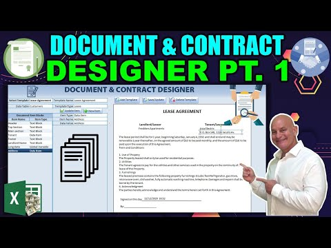 How To Design, Fill & Send Unlimited Documents & Contracts In Excel Without 3rd Party Apps [Part 1]