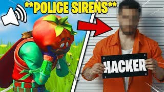 I Pretended I Got ARRESTED While Playing Fortnite