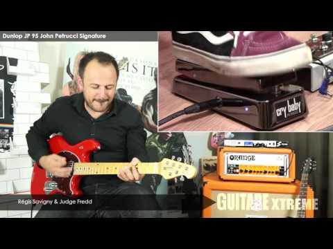 Guitare Xtreme # 76 - Comparatif wah wah - Dunlop JP-95 John Petrucci