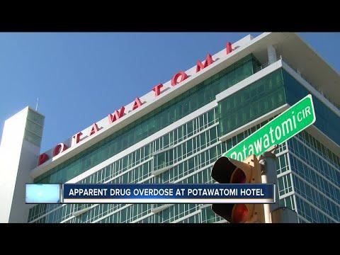 Medical Examiner: 2 men found dead of apparent drug overdoses at Potawatomi Hotel