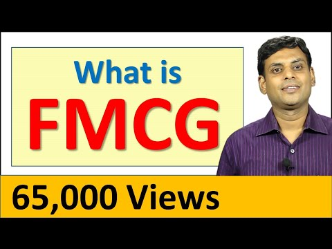 FMCG - Fast Moving Consumer Goods I Consumer Goods / Consumer Market Classification by Dr Vijay