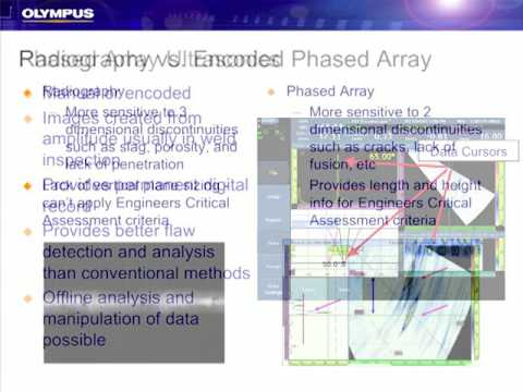 Improving Small Diameter Pipe Weld Inspections with Encoded Phased Array