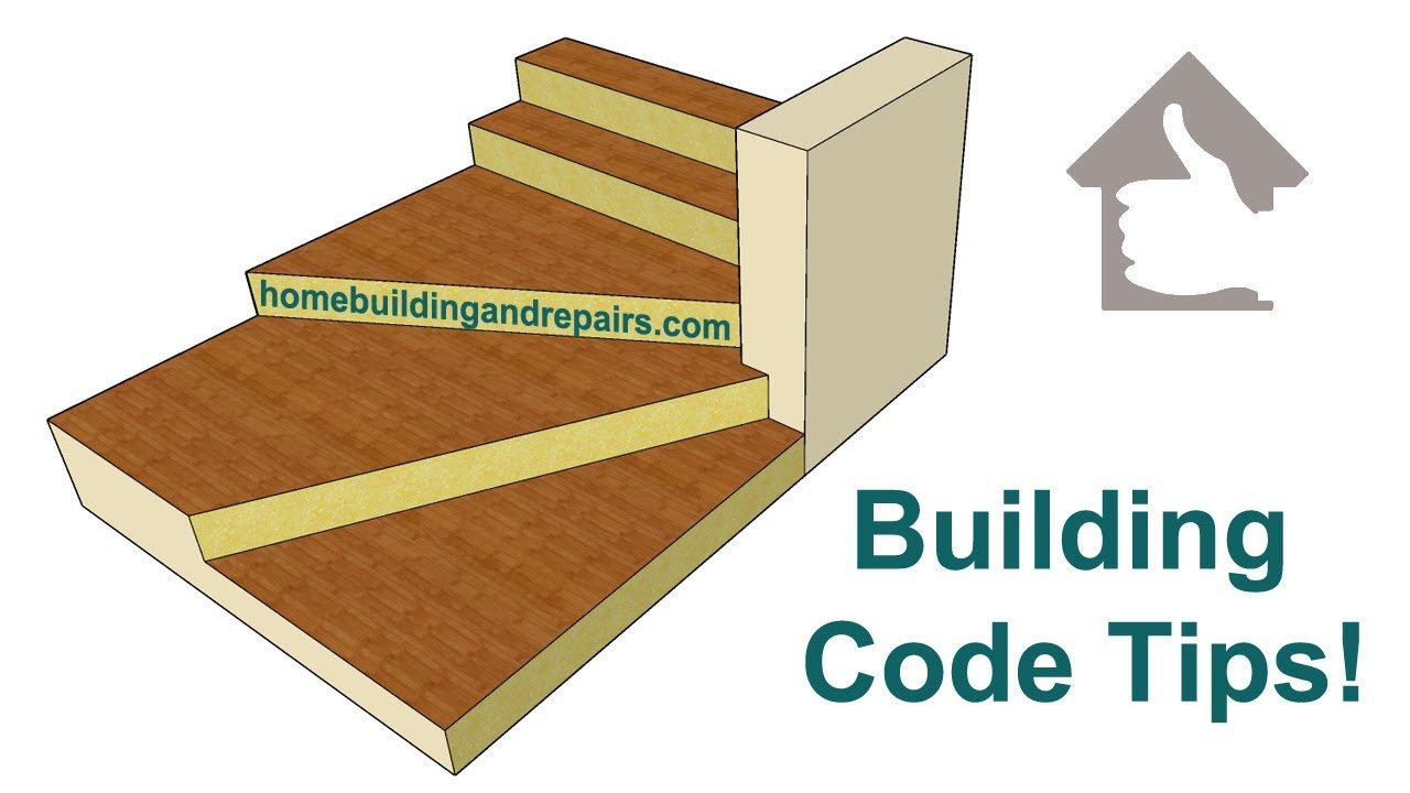 Minimum Stair Tread Depth For Winder Inside Edges – Building Codes