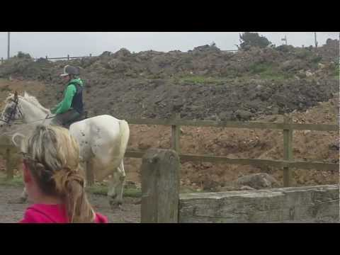me and sandy - wheal buller 2012 (jump off)