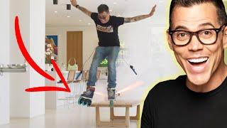 Rocket Skates w/ Steve O