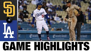 Padres vs. Dodgers Game Highlights (4/23/21) | MLB Highlights