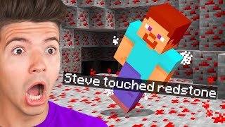 Minecraft But You Can&#39t Touch the Color Red...