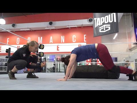 Macey Estrella shows no mercy toward WWE prospects