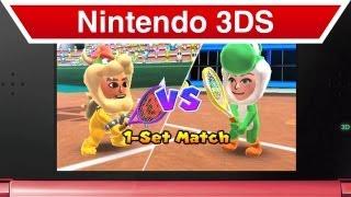 Nintendo 3DS - Mario Tennis Open Customization Trailer