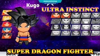 💛 KUGO Ultra Instinct vs MODE ARCADE 💛 Super Dragon Fighter APK#1 | Best VSGaming Android #FHD