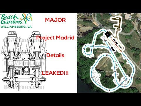 Busch Gardens Williamsburg MAJOR 2020 Coaster Details REVEALED (Project Madrid)
