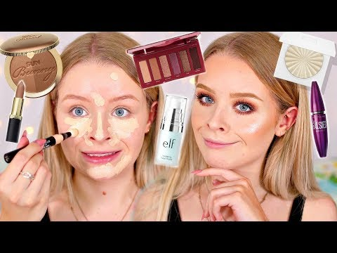 FULL FACE OF FIRST IMPRESSIONS!! NEW MAKEUP AUGUST 2018 | Sophdoesnails
