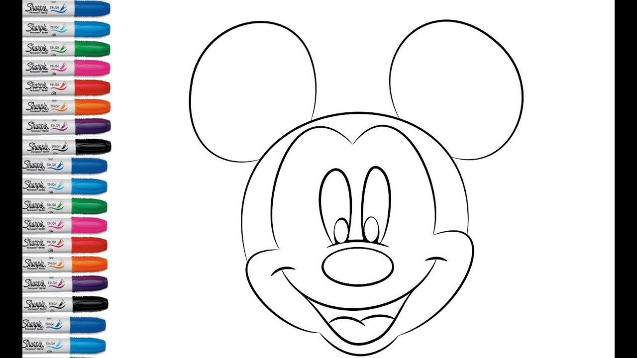 Imagenes Mickey Mouse Cara Imagui