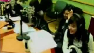 SNSD Yuri rap Baila Baila Bonita (Baby V.O.X) @ Kiss the Radio.flv